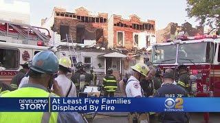 Bronx Families Displaced By Blaze