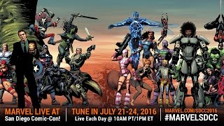 Marvel LIVE! at San Diego Comic-Con 2016 – Day 2
