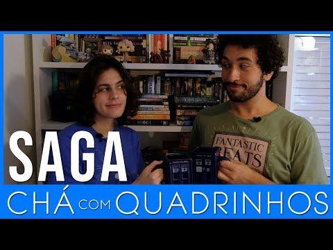 Saga - Brian K Vaughan e Fiona Staples - Chá com Quadrinhos