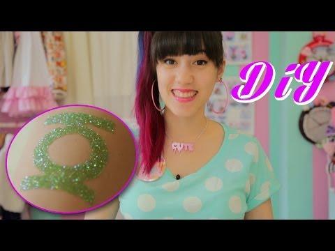 DIY | Glitzer Tattoos