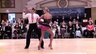 2014 Washington Open Riccardo & Yulia   Cha Cha Cha