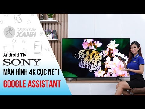Dòng Android Tivi Sony 4K X8500G (43 inch, 49 inch, 55 inch, 65 inch, 75 inch)