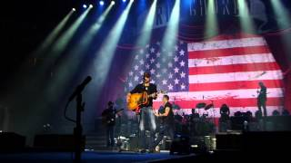 Eric Church Pledge Allegiance  to the Hag Columbia SC 11-30-12.MTS
