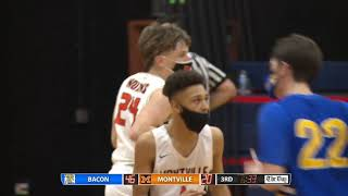 Boys' basketball highlights: Bacon Academy 85, Montville 41