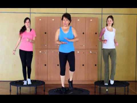 Presentación y Ejercicios con Trampolín - Activacion Muscular y Salud Adventista
