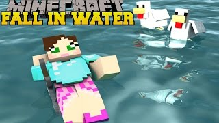 MINECRAFT: FALL IN THE WATER! - 10 WAYS TO SURVIVE - Custom map [1]