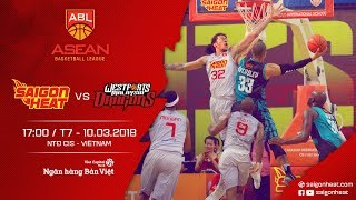 #Replay ABL 2017 || Home Game 8: Saigon Heat vs Westports Malaysia Dragons 10/03