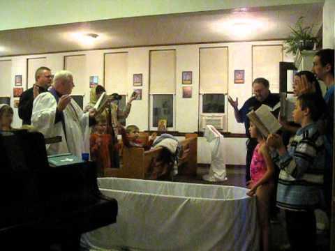 Orthodox Baptism - Western Rite
