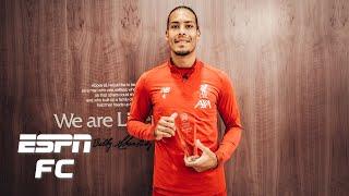 Liverpool stars Van Dijk, Alisson, Alexander-Arnold, Robertson and Klopp dominate awards | FC 100