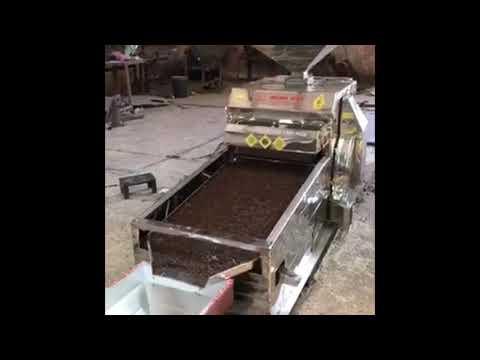 Máy lọc đá,sạn cà phê Đông Hải 1,5 tấn/h