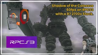 Defeating Gaius on Shadow of the Colossus HD ► R7 2700x on RPCS3