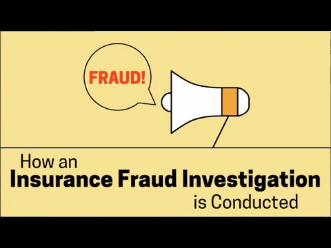 How an Insurance Fraud Investigation Works - YouTube