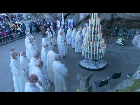 Messe de 10h à Lourdes du 14 octobre 2021