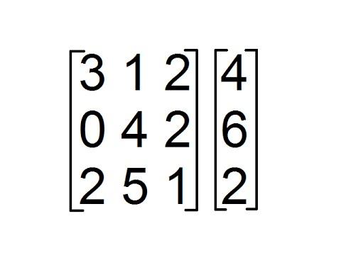 Multiplicación de Matrices de Orden 3x3 y 3x1 [Producto de Matrices]