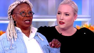 Watch Whoopi Goldberg LECTURE Meghan McCain About Respect on 'The View'