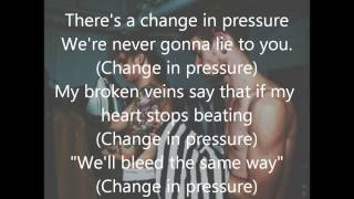 the 1975 pressure lyrics