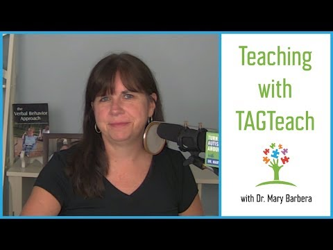 Using TAGTeach to Teach Children with Autism - YouTube