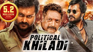 Political Khiladi (2018) New Released South Indian Hindi Dubbed Movie | Action Movies 2018 Movie