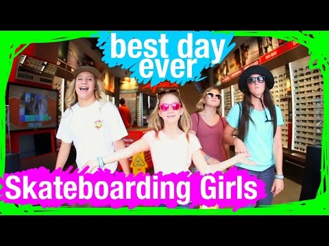 Skateboarding Girls at Walt Disney World | BDE | WDW Best Day Ever