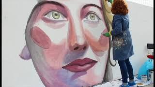 Vídeo mural Anónimas Goián