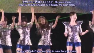 [HD] SNSD The Great Escape @ 1st Japan Tour subbed
