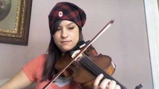 E Blues Fiddle Riff