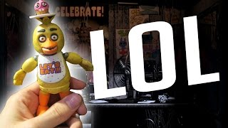 I KILLED CHICA! | Five Nights at Freddy's Figures Unboxing - dooclip.me