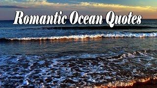 Romantic Ocean Quotes