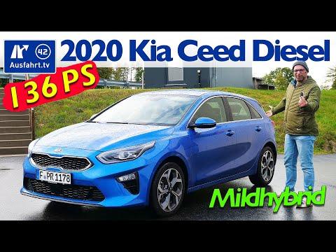 2020 Kia Ceed 1.6 CRDi iMT MHEV (CD) - Kaufberatung, Test deutsch, Review, Fahrbericht Ausfahrt.tv