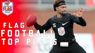 Flag Football Top Plays: Chad Johnson, Seneca Wallace and More! | NFL
