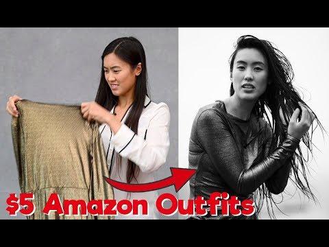 $5 Fashion - Photoshoot Challenge (Styled by Amazon)
