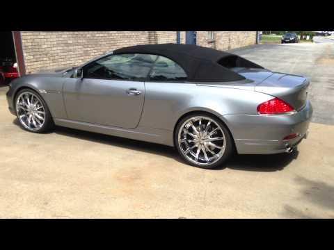 """BMW 6 Series mounted upon 22""""s at Rimtyme Jonesboro/South  Atlanta"""
