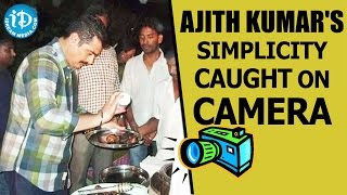 Actor Ajith's simplicity caught on camera