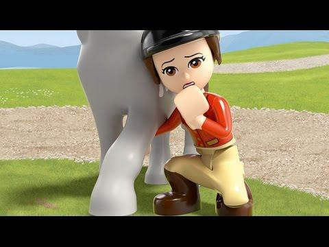 Vidéo LEGO Friends 41125 : La remorque à chevaux du vétérinaire
