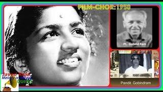 LATA JI~Film~CHOR~{1950}~O Rasiya Pawan Jakhore Aye