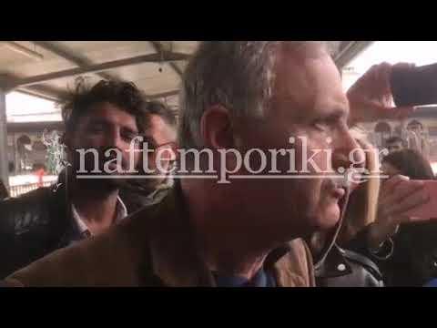 Δήλωση Μιλτιάδη Κλάπα για την κατάληψη στον σταθμό Λαρίσης