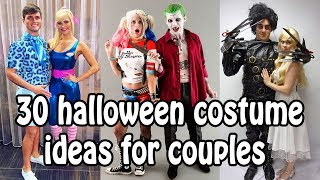 30  HALLOWEEN COSTUME IDEAS (GROUPS/COUPLE/SINGLE)