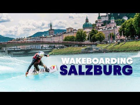 סרטון אקסטרים של פעלולי וויקבורד מרהיבים בזלצבורג