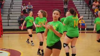 Middle School Volleyball Tournament 2017