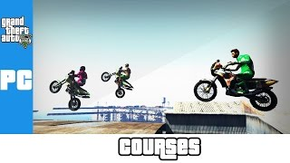 LE TRIO EN MOTO (GTA 5 PC Races Funny Moments)