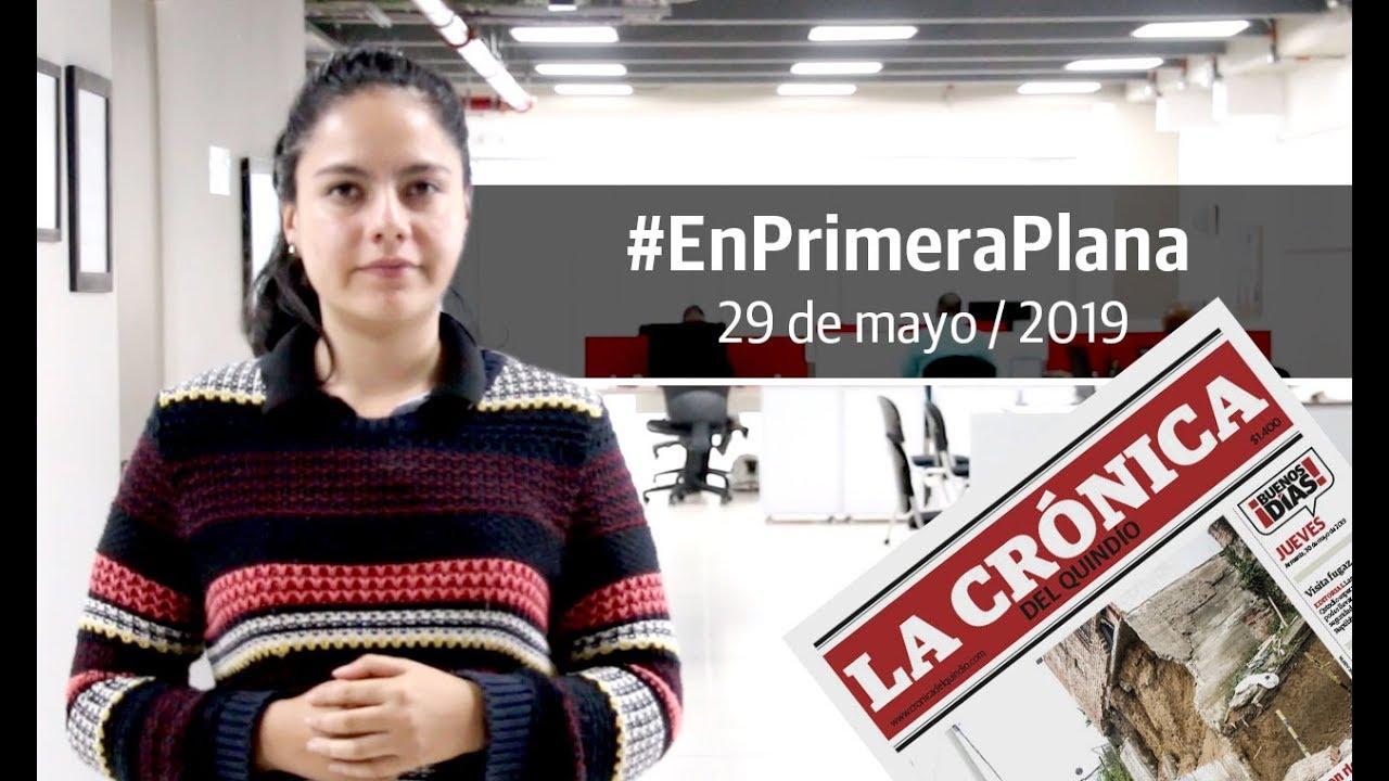 En Primera Plana: lo que será noticia este jueves 30 de mayo