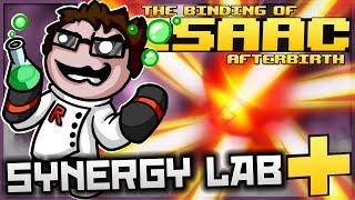 The Binding of Isaac: Afterbirth+ - Synergy Lab: ULTIMATE  DISINTEGRATION PLANET! (NEW LAB UPGRADES)