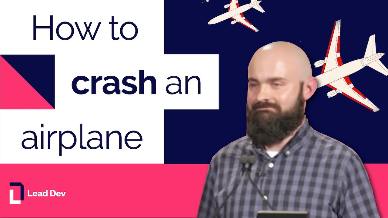 How to crash an airplane