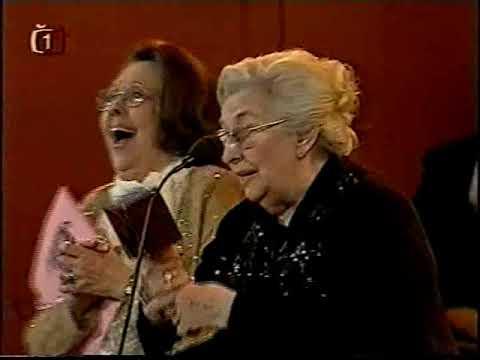 Stella Zázvorková - Dvorany slávy TýTý 2003
