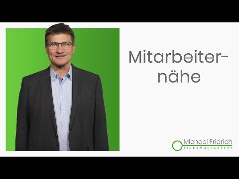 Führung durch Präsenz I Führungskräftetrainer Michael Fridrich