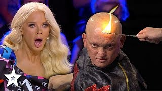 Guy SHOCKS Judges With His Electrical Talent! | Got Talent Global