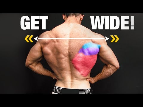 How to Get a WIDER Back (V-TAPER!)
