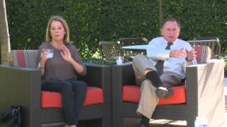 Sally Petersen and Randy Lewis - Chancellor Dan Aldrich