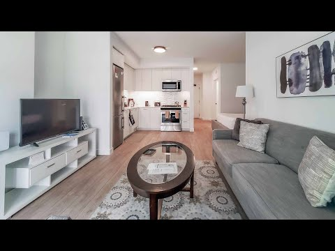 A furnished short-term West Loop alcove studio at the new Porte