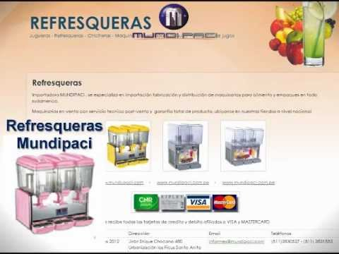 refresqueras.com - refresqueras peru - refresqueras mundipaci